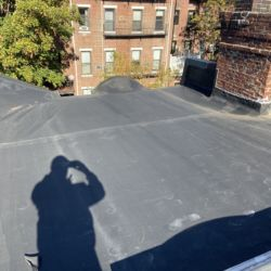 Flat Rubber Roof Repair South End Boston